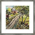 A Light Summer Breeze Framed Print
