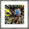 A Piney Abstract Framed Print
