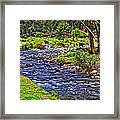 A Place Without Time Framed Print