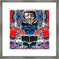 A Space Man Came Traveling Framed Print