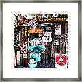 A Stop Along Route 66 Framed Print