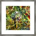 A Storm Of Wings Framed Print