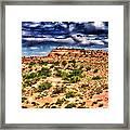 A Utah Landscape Framed Print