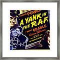A Yank In The R.a.f., Tyrone Power Framed Print by Everett