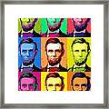 Abe Pop Framed Print