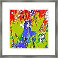 Abstract 260 Framed Print
