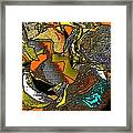 Abstract 731 Framed Print