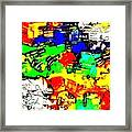 Abstract 793 Framed Print