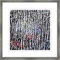 Abstract Acrylic  Framed Print