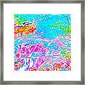 Abstract Brook Bits 18 Framed Print