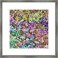 Abstract Colors Pale Framed Print