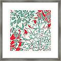Abstract Flower 16 Framed Print