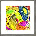 Abstract Fusion 110 Framed Print