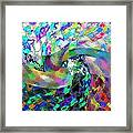 Abstract Fusion 15 Framed Print