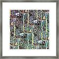 Abstract Fusion 3 Framed Print