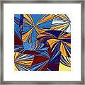 Abstract Fusion 34 Framed Print