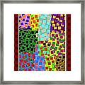 Abstract Fusion 43 Framed Print