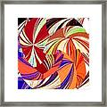 Abstract Fusion 56 Framed Print