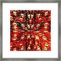 Abstract Fusion 76 Framed Print