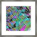 Abstract In Chalk Framed Print