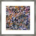 Abstract Interconnection Framed Print