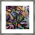 Abstrak Framed Print
