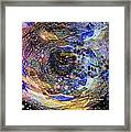Accreation Disk Framed Print