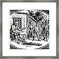 Aesop: Father & His Sons Framed Print by Granger