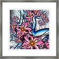 Alien Bouquet Framed Print
