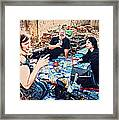 All Saints Day Cemetery Picnic New Orleans Framed Print