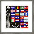 Allied Nations Fight For Freedom Framed Print by War Is Hell Store