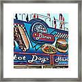 Al's All American Diner Framed Print