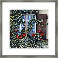 Alsace Window Framed Print by Scott Nelson