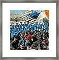 American Civil War, Battle Of Malvern Framed Print by Photo Researchers