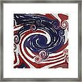 Americas Palette Framed Print