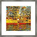 Andy River 9 Framed Print
