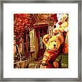 Angel Bear Framed Print by David Alvarez