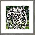 Antique Paddle Wheel University Of Alabama Birmingham Framed Print