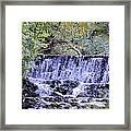 Aquatic Melody Framed Print