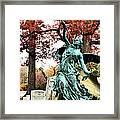 Archangel Gabriel Framed Print by JC Findley