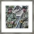 Army Life Framed Print by Dan Crosby