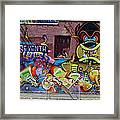 Art In The City Framed Print