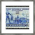 Automobile Association Of America Framed Print