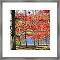 Autum Colors Framed Print