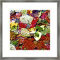 Autumn In Water Framed Print