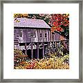 Autumn Is In The Air Framed Print