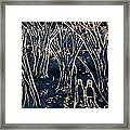 Autumn Night Hike Framed Print