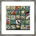 Aviary Poster Framed Print