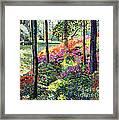 Azalea Forest Grove Framed Print