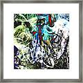 Bamboo Screaming Number One Edit F Framed Print
